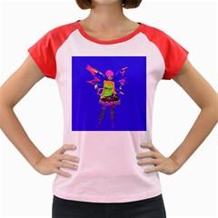 Fairy Punk Women s Cap Sleeve T Shirt