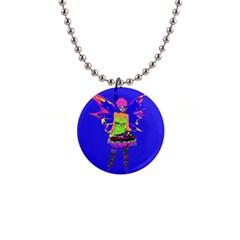 Fairy Punk Button Necklaces