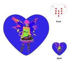 Fairy Punk Playing Cards (Heart)
