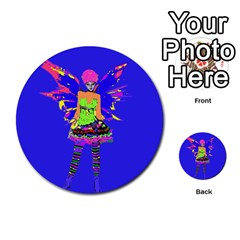 Fairy Punk Multi Purpose Cards (round)