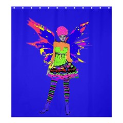 Fairy Punk Shower Curtain 66  x 72  (Large)