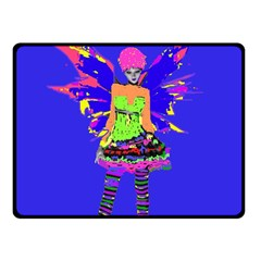 Fairy Punk Fleece Blanket (Small)