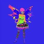 Fairy Punk Storage Stool 12   Back