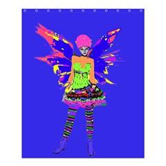 Fairy Punk Shower Curtain 60  x 72  (Medium)