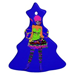 Fairy Punk Christmas Tree Ornament (2 Sides)