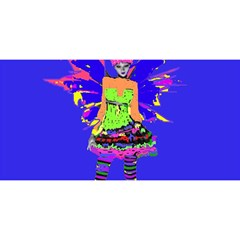 Fairy Punk YOU ARE INVITED 3D Greeting Card (8x4)