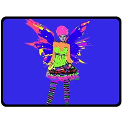 Fairy Punk Double Sided Fleece Blanket (Large)