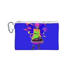 Fairy Punk Canvas Cosmetic Bag (S)