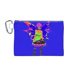 Fairy Punk Canvas Cosmetic Bag (M)