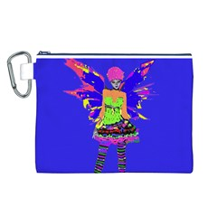 Fairy Punk Canvas Cosmetic Bag (L)