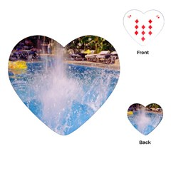 Splash 3 Playing Cards (Heart)