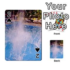 Splash 3 Playing Cards 54 Designs