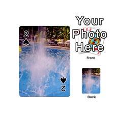 Splash 3 Playing Cards 54 (Mini)