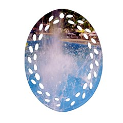 Splash 3 Ornament (Oval Filigree)