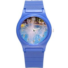 Splash 3 Round Plastic Sport Watch (s)