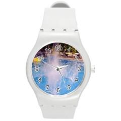 Splash 3 Round Plastic Sport Watch (m)
