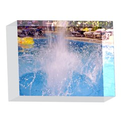 Splash 3 5 x 7  Acrylic Photo Blocks