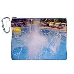 Splash 3 Canvas Cosmetic Bag (XL)