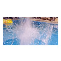 Splash 3 Satin Shawl