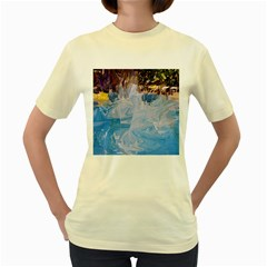 Splash 4 Women s Yellow T Shirt