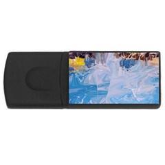 Splash 4 Usb Flash Drive Rectangular (4 Gb)