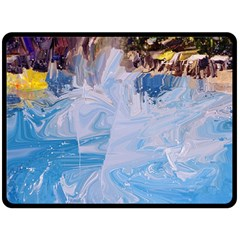 Splash 4 Double Sided Fleece Blanket (Large)