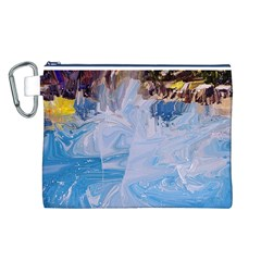 Splash 4 Canvas Cosmetic Bag (L)