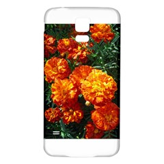 Tagetes Samsung Galaxy S5 Back Case (White)