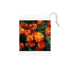 Tagetes Drawstring Pouches (Small)