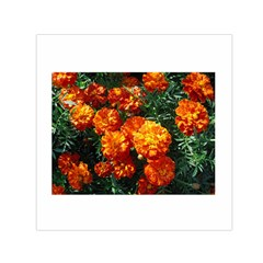 Tagetes Small Satin Scarf (Square)