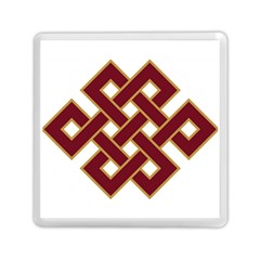 Buddhist Endless Knot Auspicious Symbol Memory Card Reader (Square)