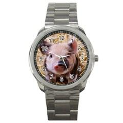 Sweet Piglet Sport Metal Watches