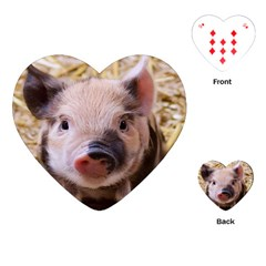 Sweet Piglet Playing Cards (Heart)