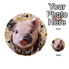 Sweet Piglet Playing Cards 54 (round)