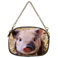 Sweet Piglet Chain Purses (two Sides)