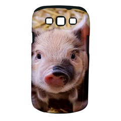 Sweet Piglet Samsung Galaxy S Iii Classic Hardshell Case (pc+silicone)