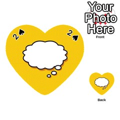 Comic Book Think Playing Cards 54 (Heart)
