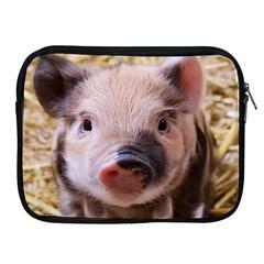 Sweet Piglet Apple Ipad 2/3/4 Zipper Cases