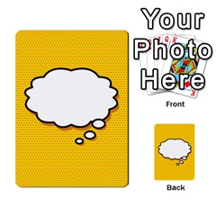Comic Book Think Multi Purpose Cards (rectangle)