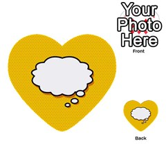 Comic Book Think Multi Purpose Cards (heart)