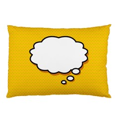 Comic Book Think Pillow Cases