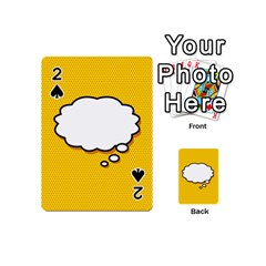 Comic Book Think Playing Cards 54 (Mini)