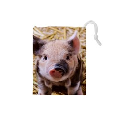 Sweet Piglet Drawstring Pouches (small)