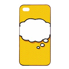 Comic Book Think Apple iPhone 4/4s Seamless Case (Black)