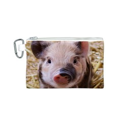 Sweet Piglet Canvas Cosmetic Bag (S)