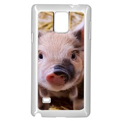 Sweet Piglet Samsung Galaxy Note 4 Case (White)