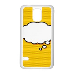 Comic Book Think Samsung Galaxy S5 Case (White)