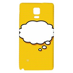 Comic Book Think Galaxy Note 4 Back Case
