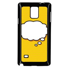 Comic Book Think Samsung Galaxy Note 4 Case (Black)