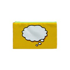 Comic Book Think Cosmetic Bag (XS)